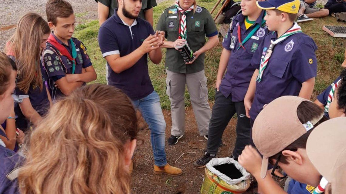 Iapar e Emater desenvolvem ações de preservação ao meio ambiente em Palmas