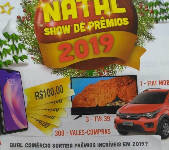 Natal Show realizou mais sorteios em Palmas