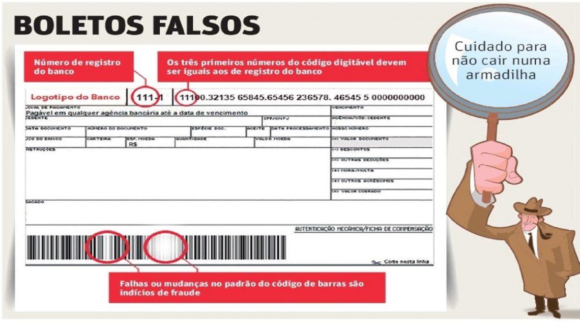 Procon de Francisco Beltrão faz alerta para golpe através de boletos falsos