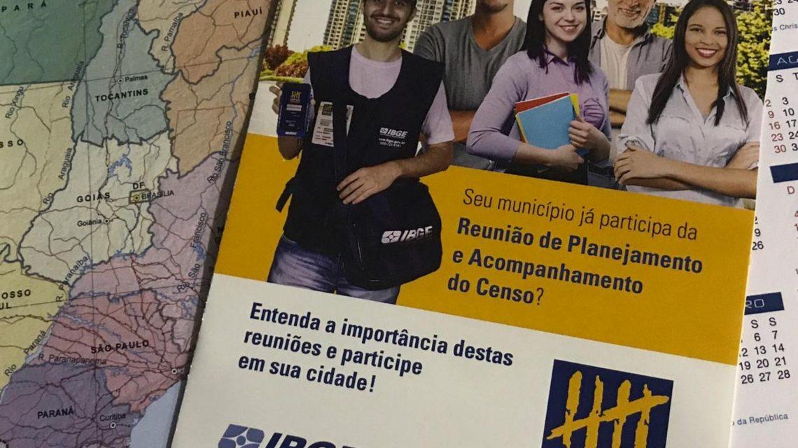 IBGE realizará reunião de planejamento do Censo 2020 em Palmas