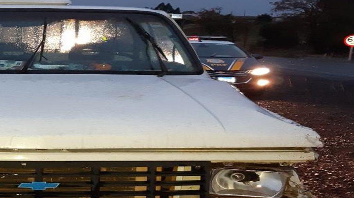 PRF registra acidente envolvendo motorista bêbado em Pato Branco