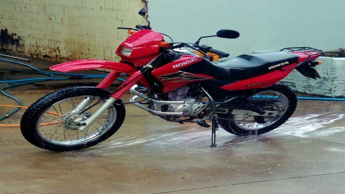 Polícia registra furto de motocicleta em São João