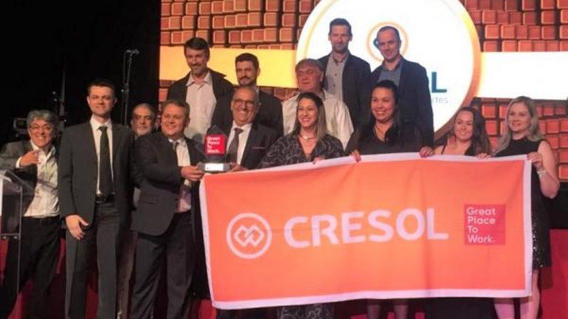Cresol está entre as melhores empresas para trabalhar no Paraná