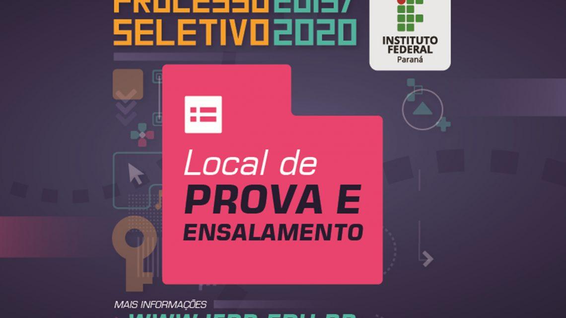 Processo Seletivo do IFPR tem mais de 2 mil inscritos em Palmas