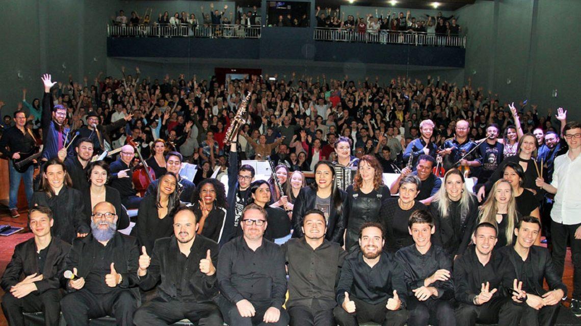 Orquestra e Coral da UTFPR-FB preparam concerto de fim de ano