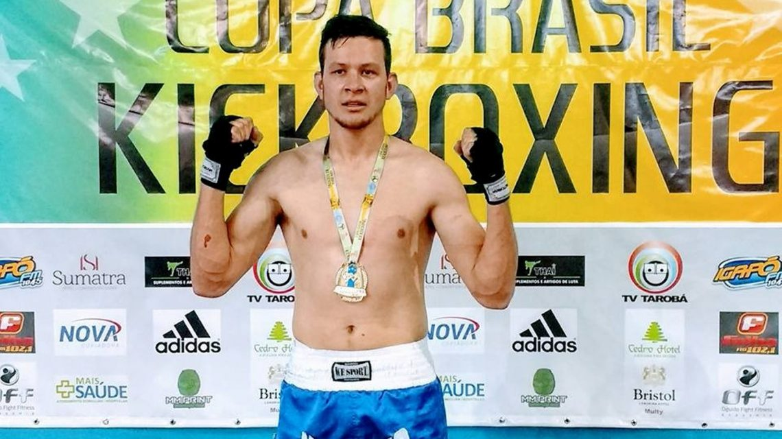 Palmense disputará Campeonato Mundial de Kickboxing na Europa