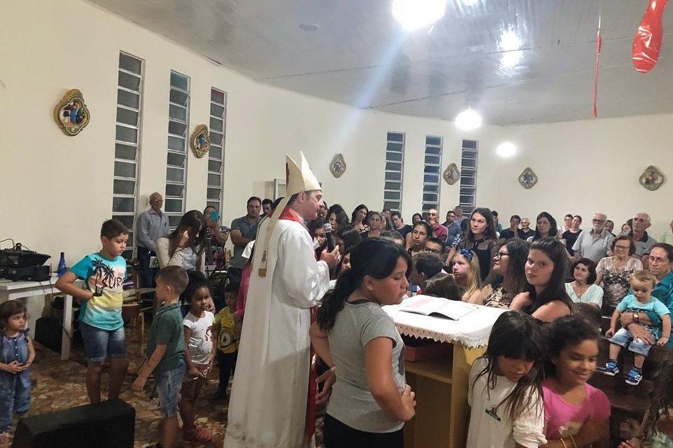 Coronel Vivida: Paróquia São Roque recebe a visita pastoral de Dom Edgar