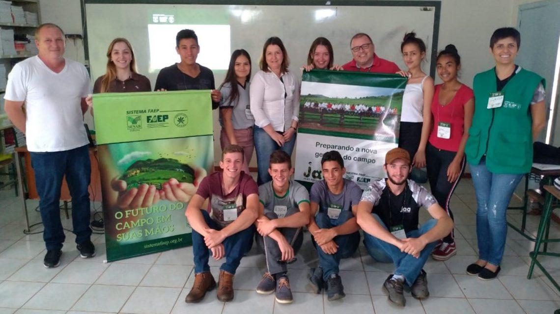 Curso de piscicultura é concluído por alunos da Casa Familiar Rural de Chopinzinho