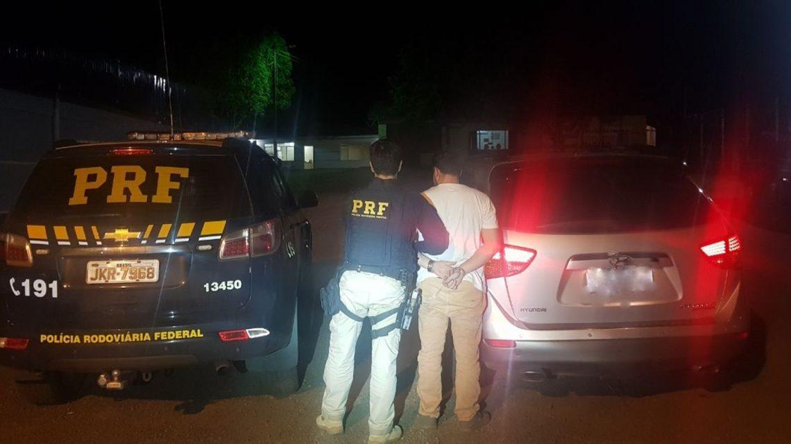 Camionete roubada no Rio Grande do Sul é recuperada no Sudoeste pela PRF