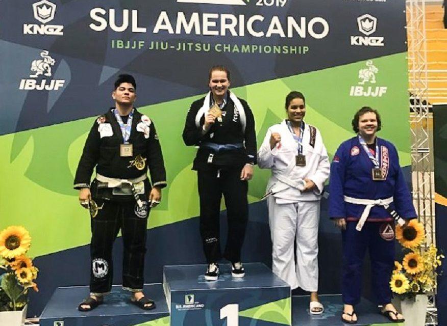Palmense conquista sulamericano adulto de Jiu-Jitsu