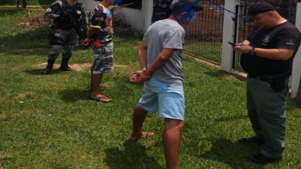 PF e Força Nacional fazem operação em Santo Antônio do Sudoeste