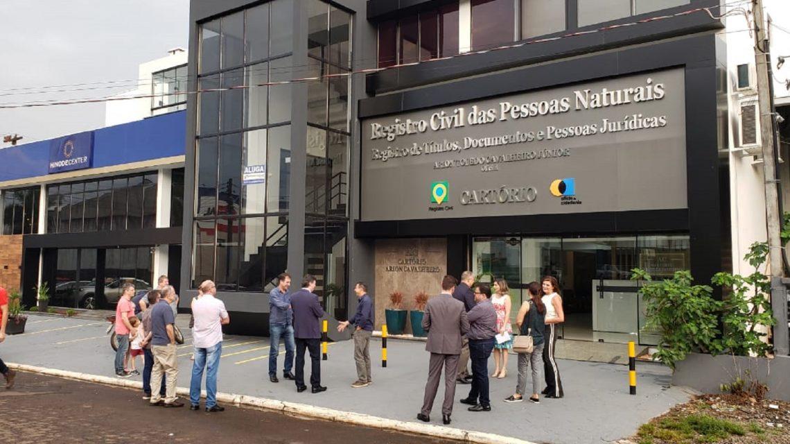 Cartório Arion Cavalheiro inaugura nova sede em Francisco Beltrão