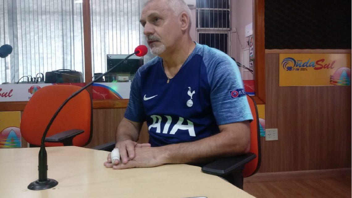 Técnico Serginho Bigode fará sua estreia neste sábado pelo Marreco Futsal