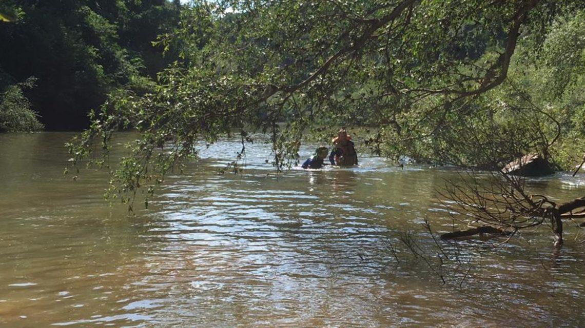 Corpo de jovem vítima de afogamento é encontrado no Rio Capanema, em Ampére