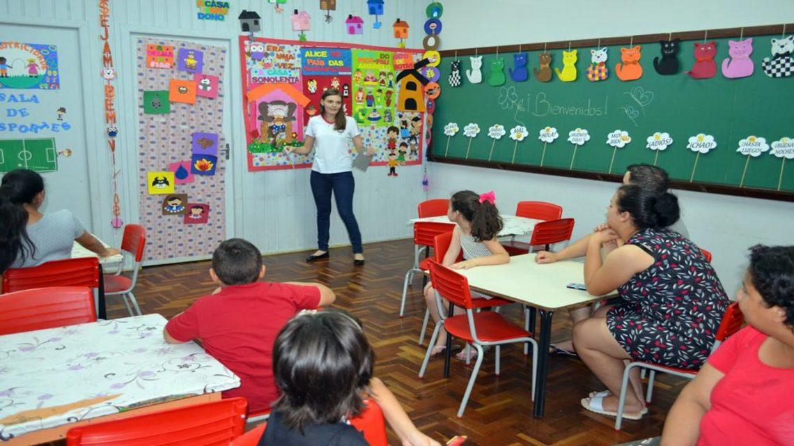 """Centro de Educação Integral faz """"Dia da Família"""" em Chopinzinho"""