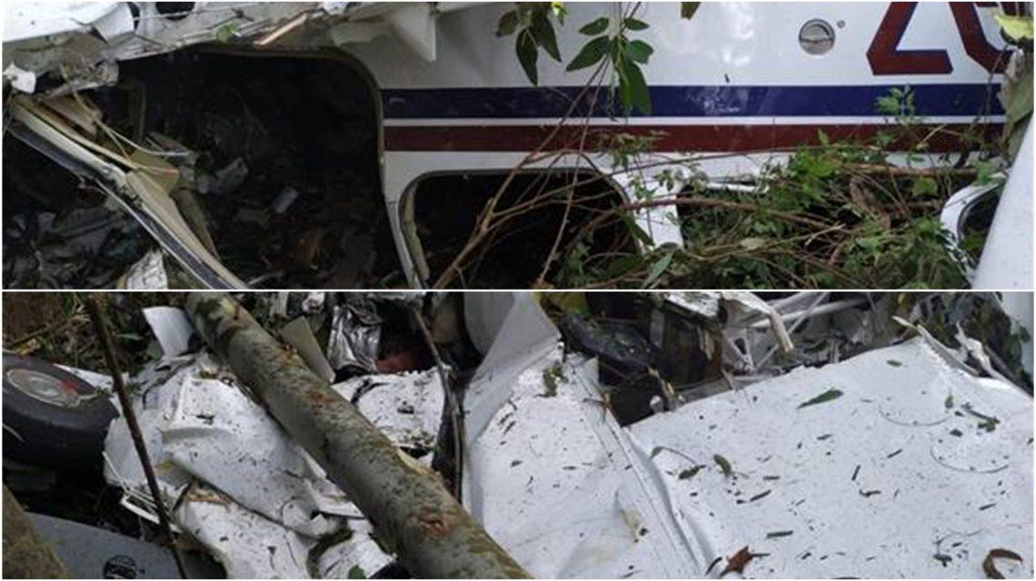 Queda de aeronave deixa três mortos em Cascavel