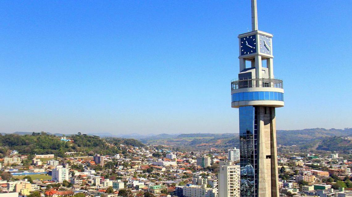 Francisco Beltrão: Torre da Concatedral está fechada para visitação
