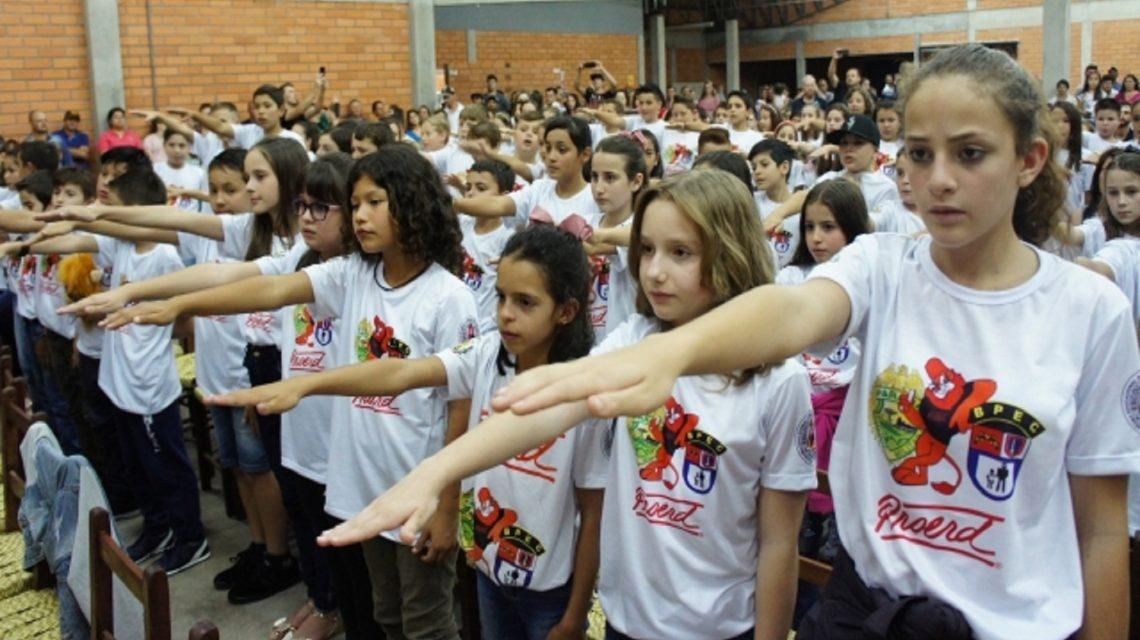 Proerd forma mais 210 crianças em Marmeleiro