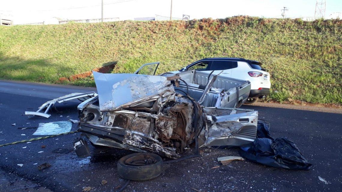 Homem de 52 anos morre vítima de acidente na PR-280, em Pato Branco