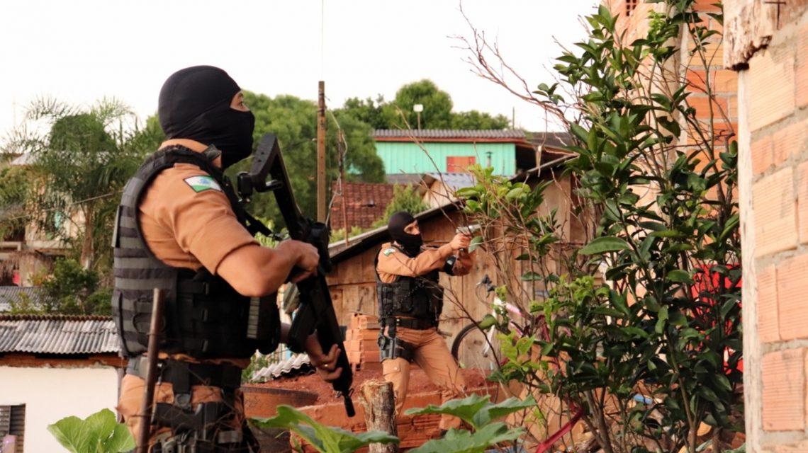 """""""Operação Divisa""""é desencadeada pelas policias Militar e Civil em Marmeleiro"""