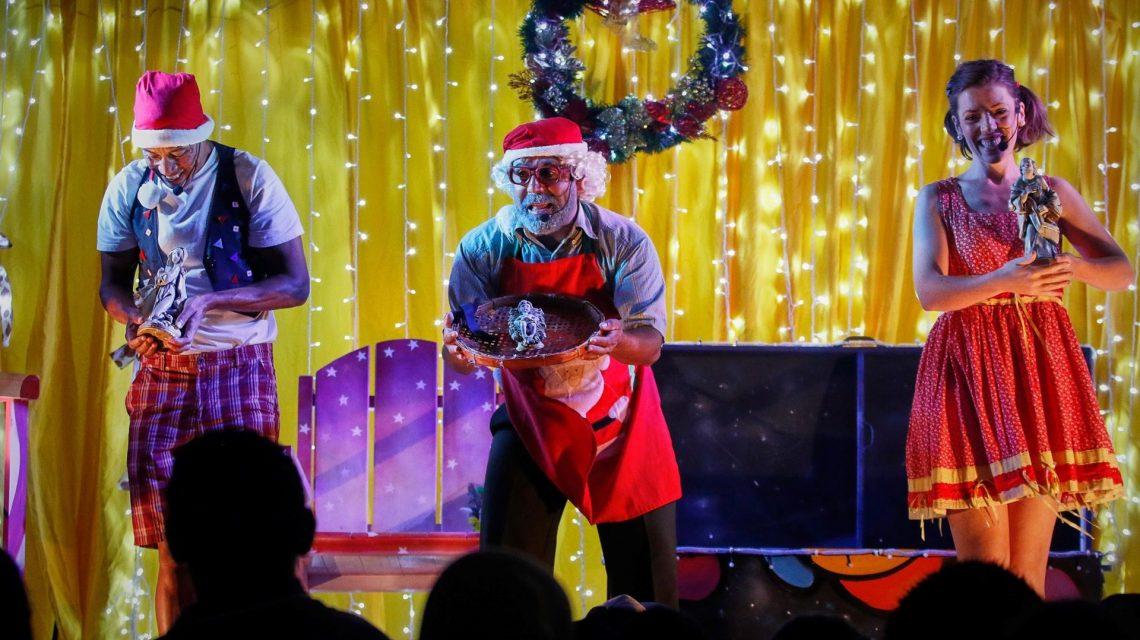 Natal Mágico passa pelo Sudoeste levando a magia do Natal e espetáculos teatrais