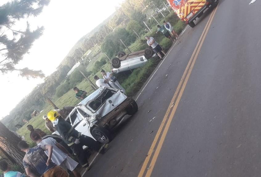 Acidente causa morte de jovem em Ponte Serrada