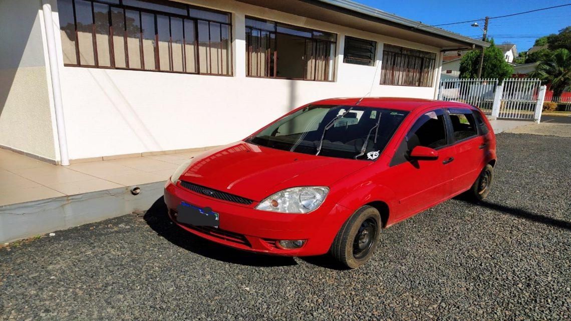 Polícia Militar localiza veículo furtado em Coronel Vivida