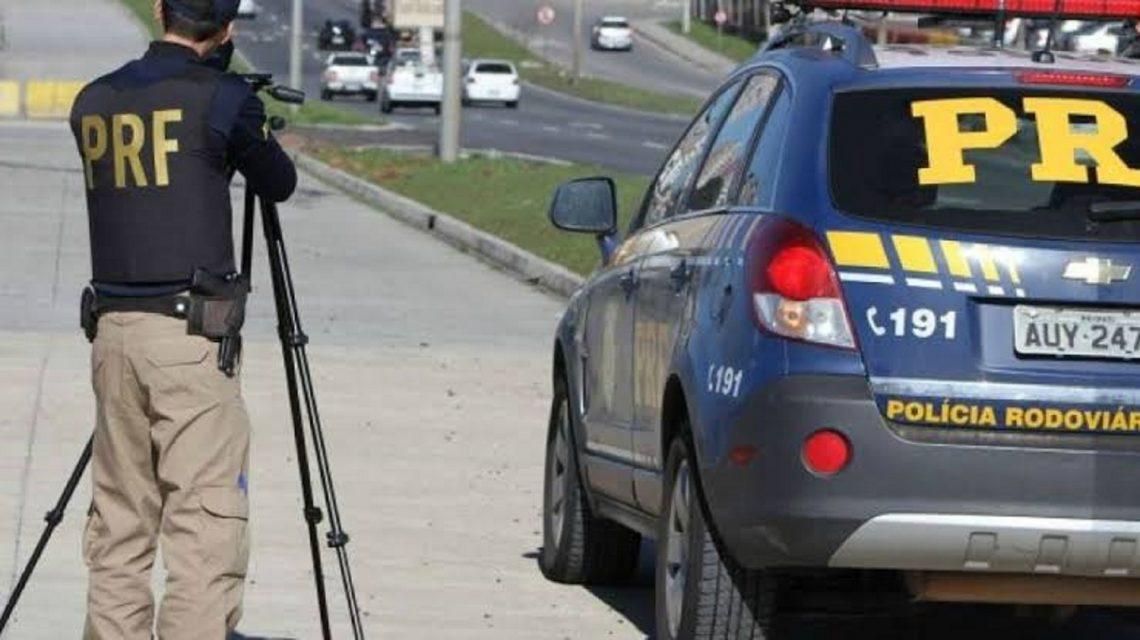 PRF volta a utilizar radares móveis em rodovias federais