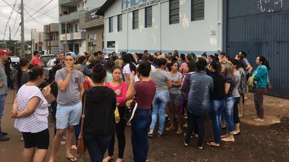 Indústria fecha as portas e deixa funcionários sem salários em Ampére