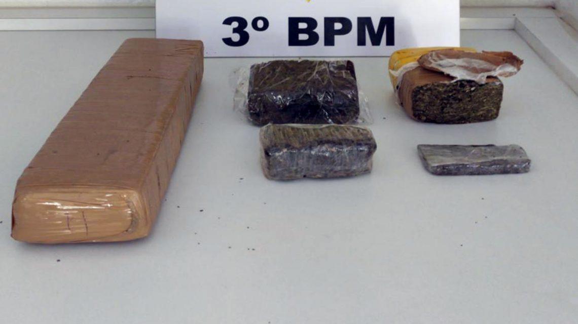 Homens são presos por tráfico de drogas em Coronel Vivida