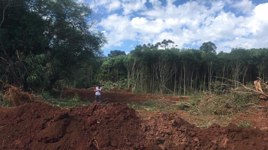 Prefeitura inicia obras do Lago Municipal de Marmeleiro