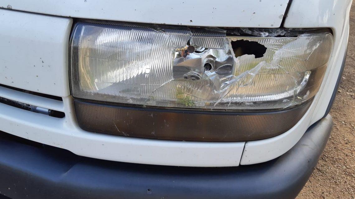 Van com compristas de Francisco Beltrão é alvo de tiros em assalto no Oeste do Estado