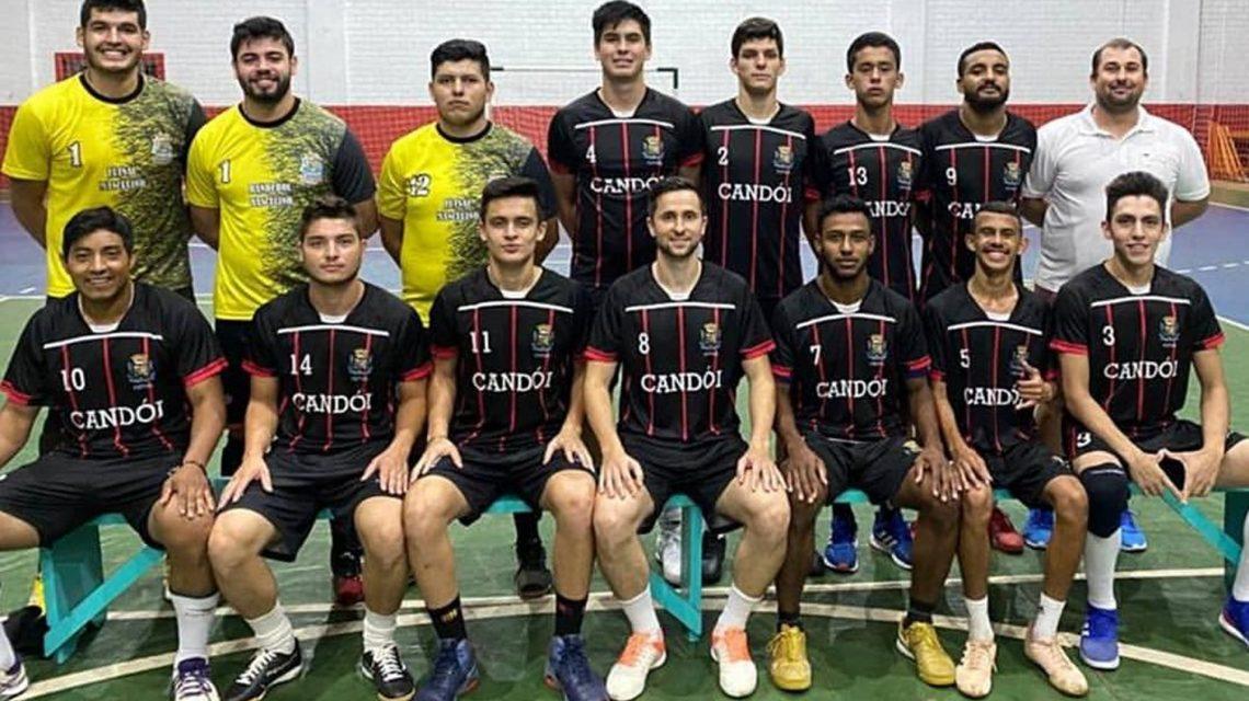 Equipe de Candói já treina para disputa da Série Bronze de Futsal