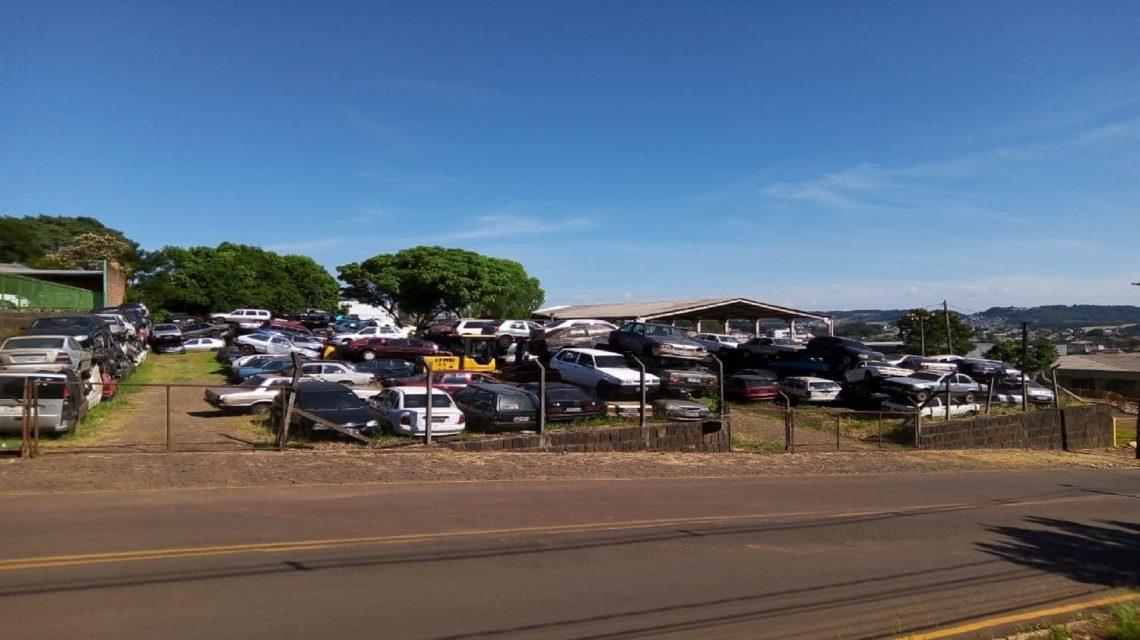 Detran-PR vai leiloar 250 veículos em Francisco Beltrão