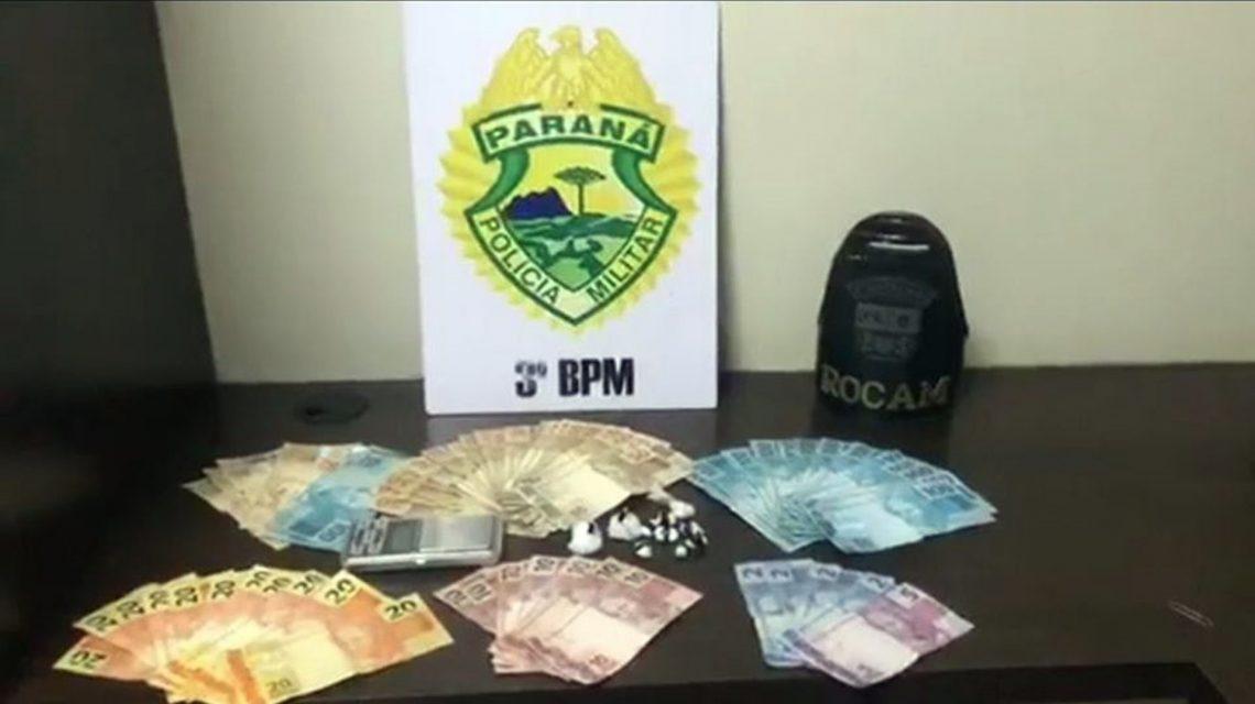 Homem suspeito de tráfico de drogas é detido em Pato Branco