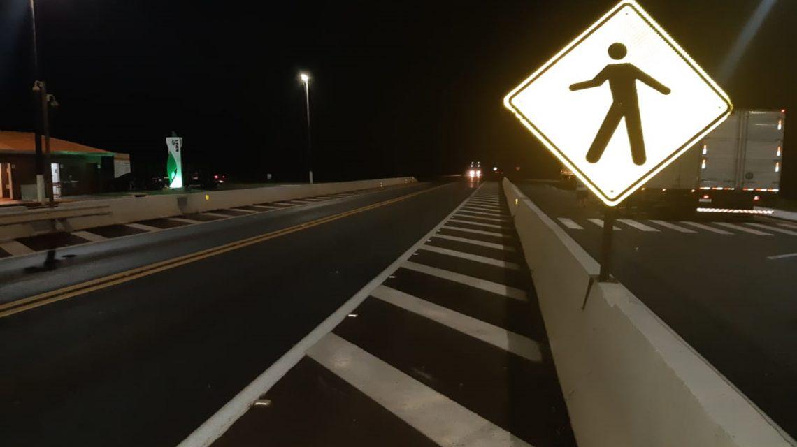 Adolescente é atropelada em frente ao SAU na BR-277, em Candói