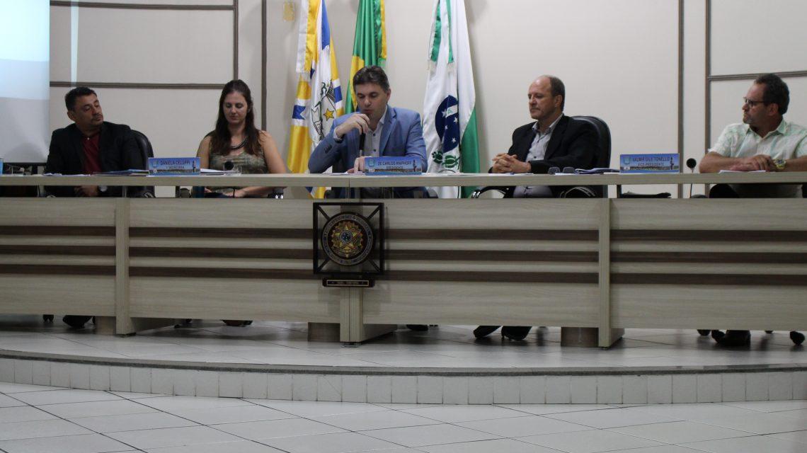 Francisco Beltrão: Realizada a primeira sessão da Câmara de Vereadores