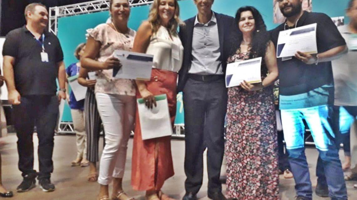 Colégios de Candói e Foz do Jordão são homenageados em evento da Secretaria Estadual de Educação