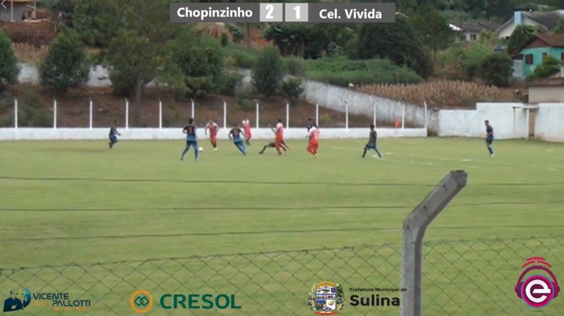 Chopinzinho vence Coronel na Taça Iguaçu Cresol 2020