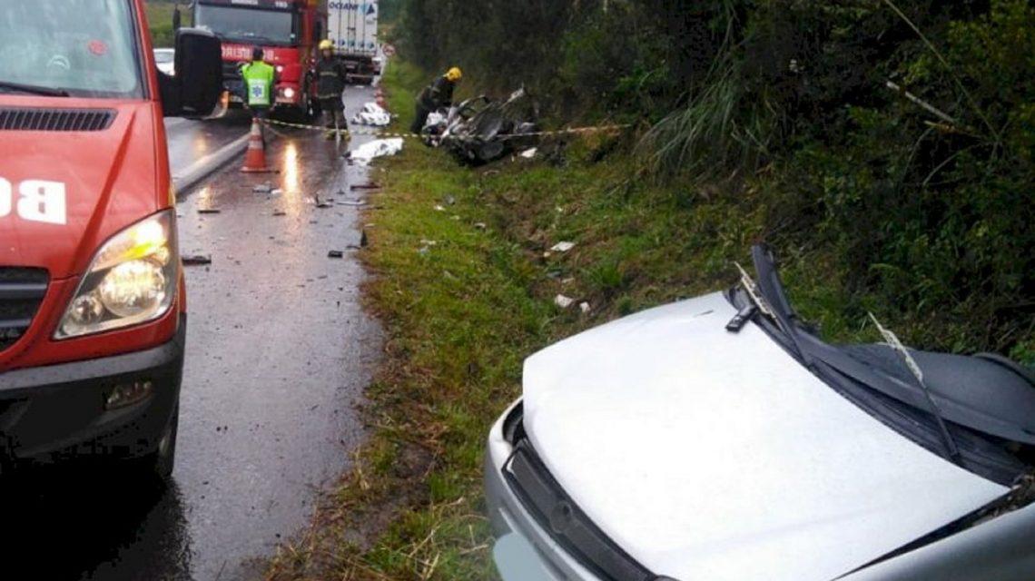 Três acidentes fatais registrados no final de semana no Oeste de Santa Catarina