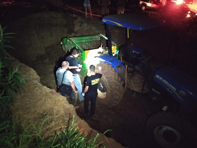 Corpo de agricultor esmagado em Capanema está no IML de Francisco Beltrão