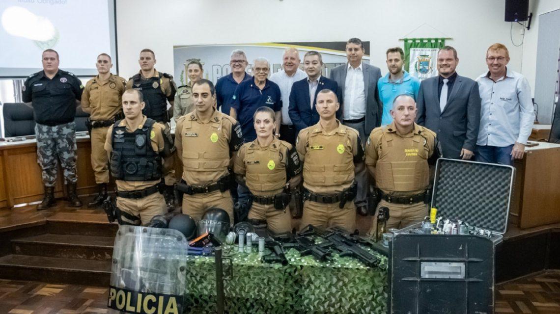 Polícia Militar de Dois Vizinhos implanta equipe da Rotam
