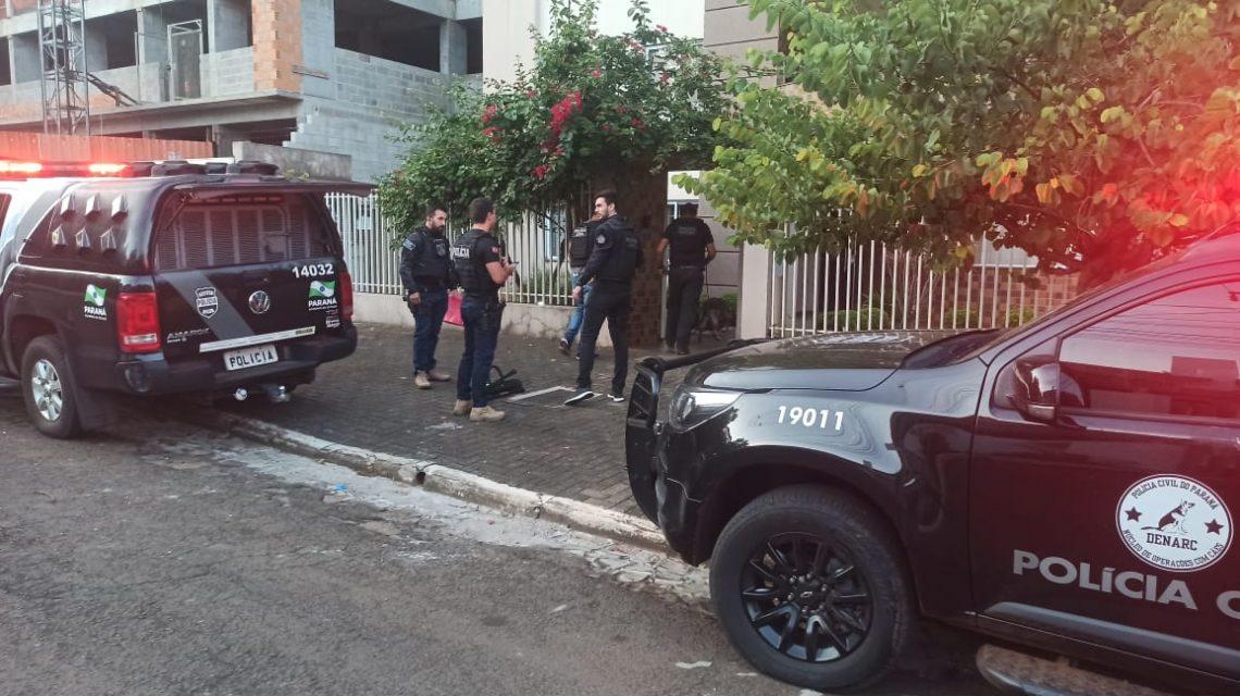 """""""El Patrón"""" Operação policial prende traficante em Francisco Beltrão"""