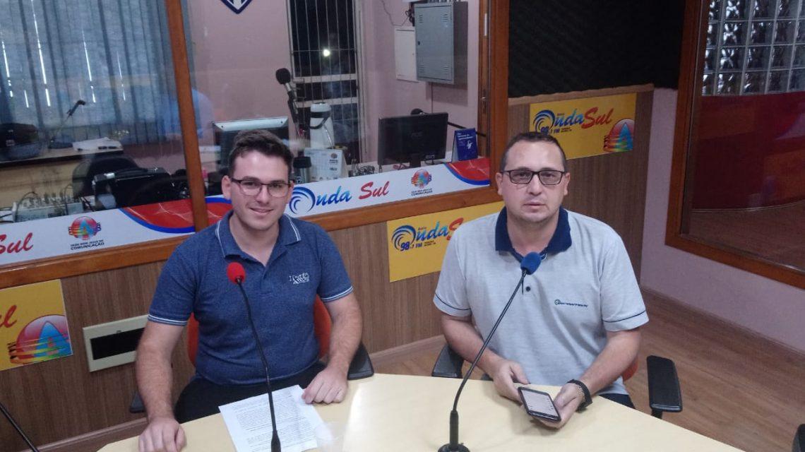 Observatório Social e Sudenge acompanham obras em Francisco Beltrão