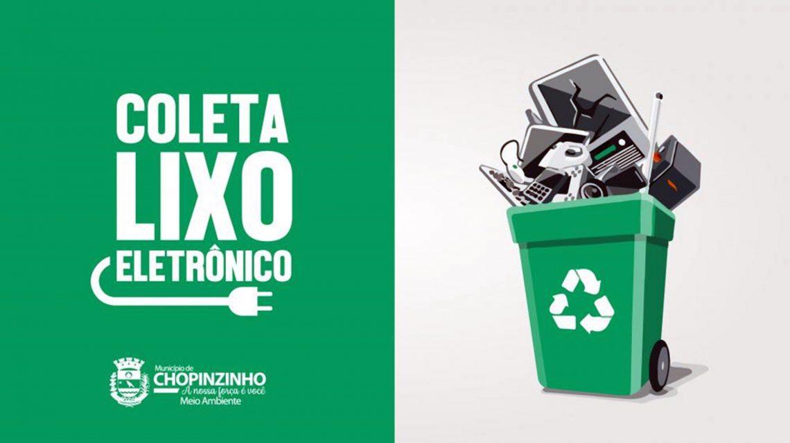 Inicia a Campanha de Coleta do Lixo Eletrônico em Chopinzinho