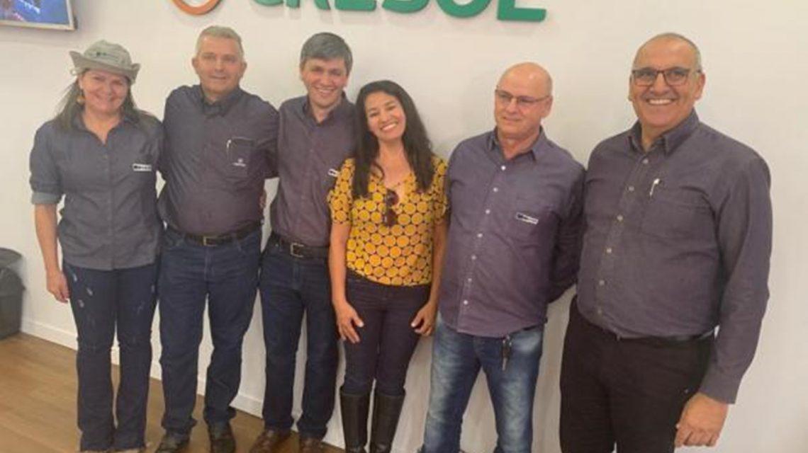 Cresol firma parceria com a Fetaep durante o Show Rural