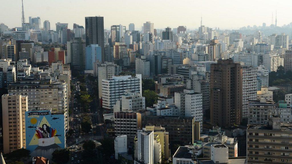 Vista do Edifício Copan, região central