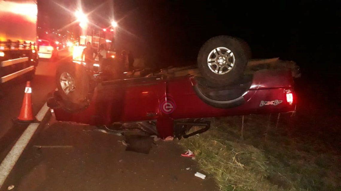 Mulher morre vítima de acidente na BR-373, em Candói