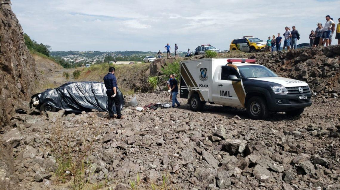 Homem perde a vida em capotamento na PR-180 em Francisco Beltrão