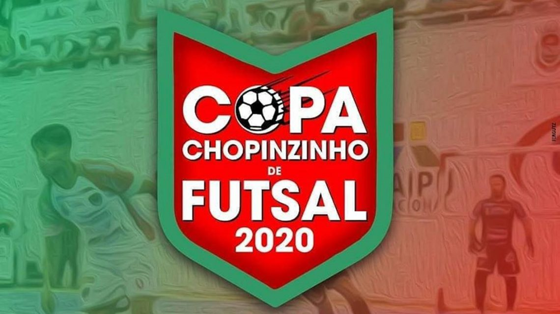 Copa Chopinzinho de Futsal inicia nesta quarta-feira
